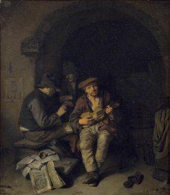 The Blind Fiddler | Cornelis Pietersz Bega | Oil Painting