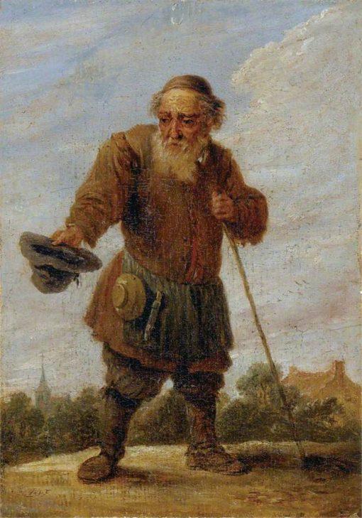 An Old Beggar | David Teniers II | Oil Painting