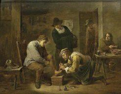 The Foot Doctor | David Teniers II | Oil Painting