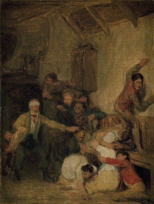 Blind Man's Buff | David Wilkie | Oil Painting
