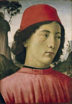 Portrait of a Young Man | Domenico Ghirlandaio | Oil Painting