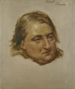 Study for the Portrait of Ernest Renan | Edwin Long