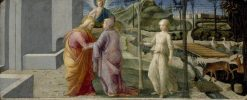 The Meeting at the Golden Gate | Fra Filippo Lippi | Oil Painting