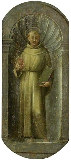 Saint Anthony of Padua | Francesco Granacci | Oil Painting