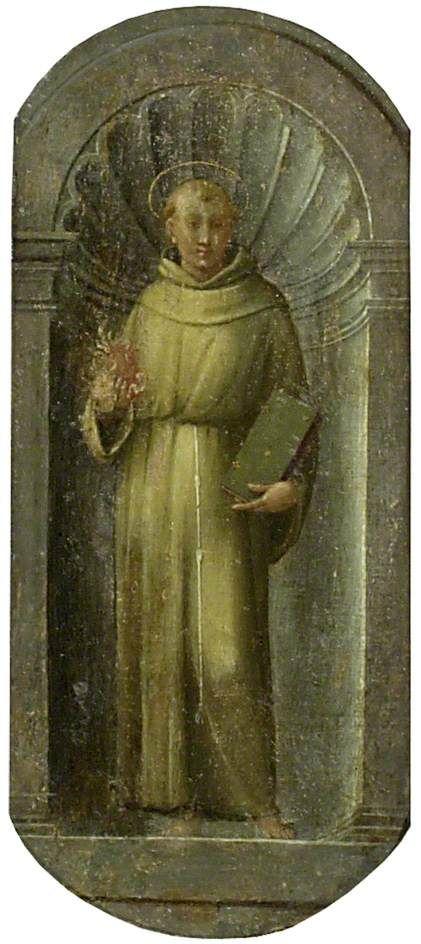 Saint Anthony of Padua   Francesco Granacci   Oil Painting