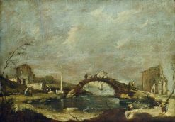 Capriccio Landscape | Francesco Guardi | Oil Painting
