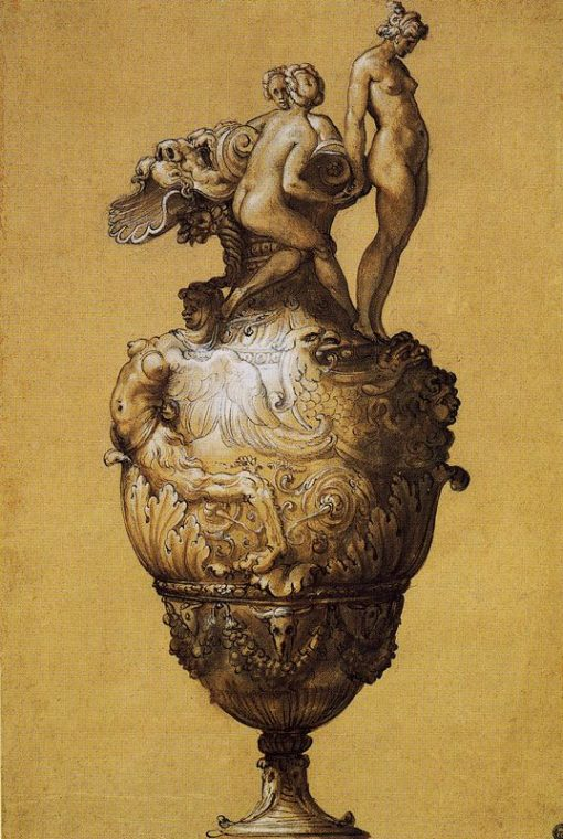Design for a Ewer | Francesco Salviati | Oil Painting