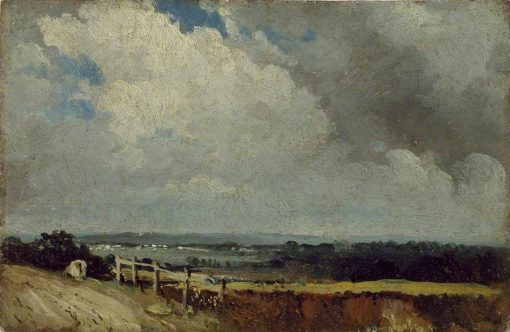 Near Epsom | Frederick Waters Watts | Oil Painting