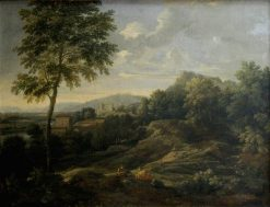 Landscape in the Roman Campagna | Gaspard Dughet | Oil Painting