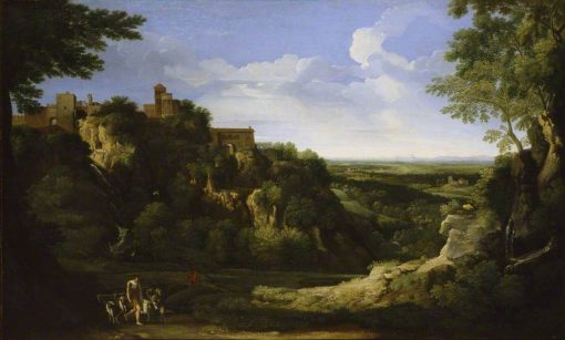 View of Tivoli with Rome in the Distance | Gaspard Dughet | Oil Painting