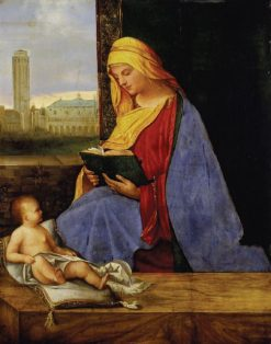 Virgin and Child with View of Venice(also known as The Tallard Madonna) | Giorgione | Oil Painting