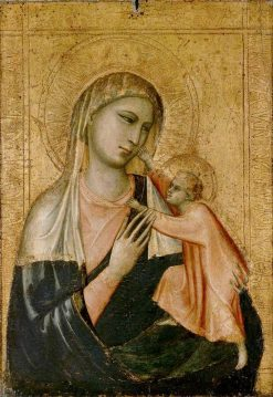The Virgin and Child | Giotto | Oil Painting