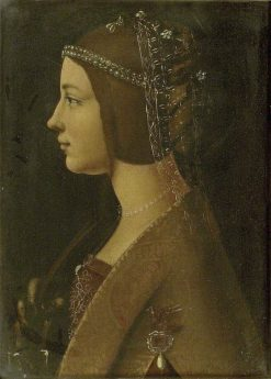 Portrait of an Unknown Woman | Giovanni Ambrogio de Predis | Oil Painting
