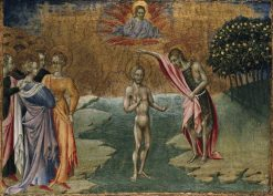 The Baptism of Christ | Giovanni di Paolo | Oil Painting