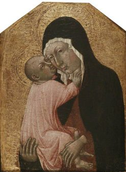 The Virgin and Child | Giovanni di Paolo | Oil Painting