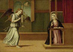 The Annunciation | Girolamo da Santa Croce | Oil Painting