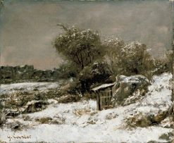 Winter Scene | Gustave Courbet | Oil Painting