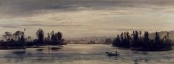 On the Seine near Les Andelys | Henry Moore | Oil Painting