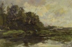 Stormy Landscape | Jacob Maris | Oil Painting
