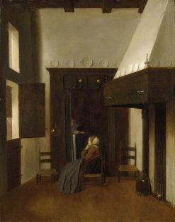 The Little Nurse | Jacobus Vrel | Oil Painting