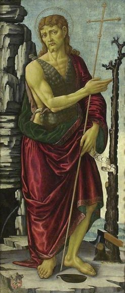 Saint John the Baptist | Jacopo del Sellaio | Oil Painting