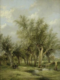 The Willow Stream   James Stark   Oil Painting