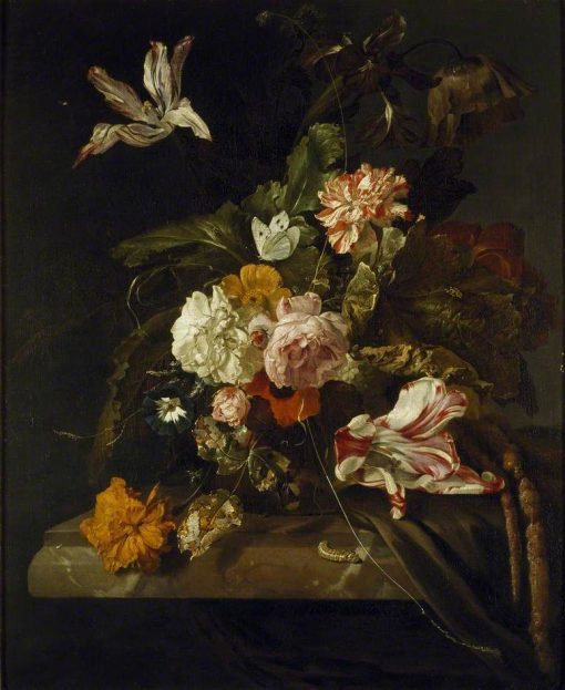 A Vase of Flowers | Jan Weenix | Oil Painting