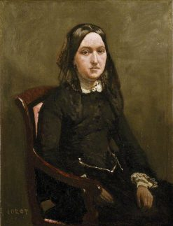 Madame Bison | Jean Baptiste Camille Corot | Oil Painting