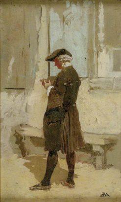 An Abbé   Jean Louis Ernest Meissonier   Oil Painting