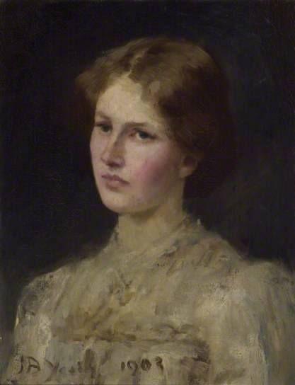 Miss Margaret Grierson | John Butler Yeats | Oil Painting