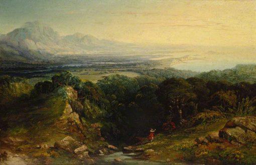 The Isle of Man | John Martin | Oil Painting