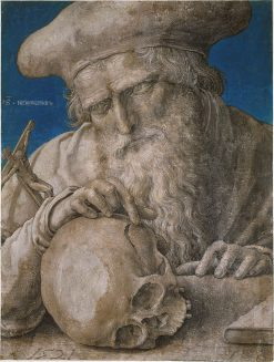 Saint Jerome | Lucas van Leyden | Oil Painting