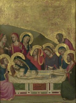 The Entombment | Master of San Martino alla Palma | Oil Painting