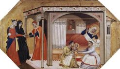 The Birth of the Virgin Mary | Master of the Ashmolean Predella | Oil Painting