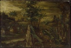 Landscape | Nathaniel Bacon | Oil Painting