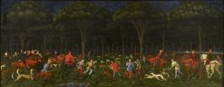 The Hunt in the Forest | Paolo Uccello | Oil Painting