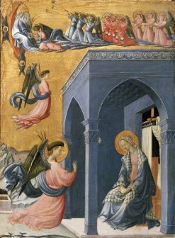 The Annunciation | Paolo Uccello | Oil Painting