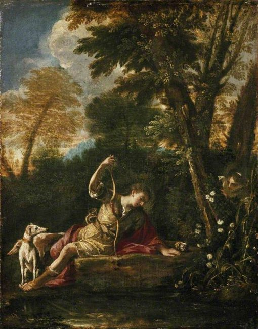 Echo and Narcissus | Pier Francesco Mola | Oil Painting
