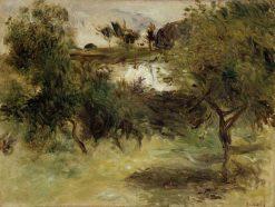 Landscape with Trees | Pierre Auguste Renoir | Oil Painting