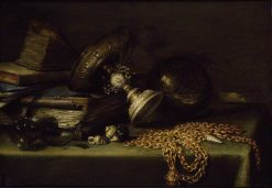 Still Life with a Gold Chain | Pieter Claesz | Oil Painting