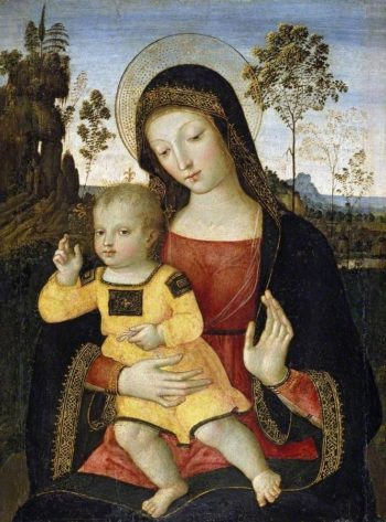 The Virgin and Child | Pinturicchio | Oil Painting