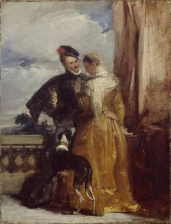 Amy Robsart and the Earl of Leicester | Richard Parkes Bonington | Oil Painting