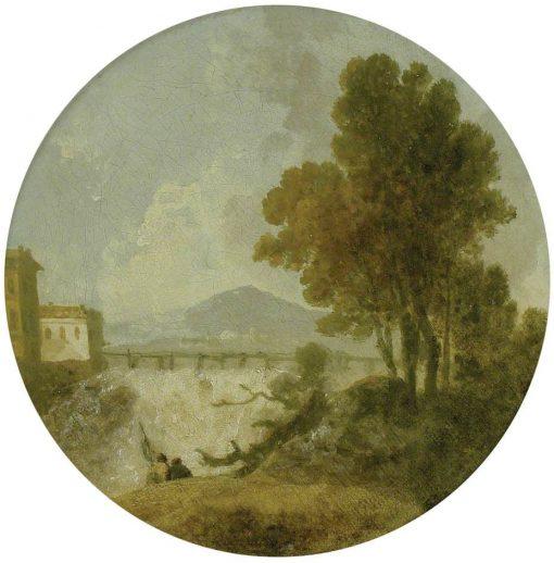 A Weir on the River Po near Ferrara | Richard Wilson