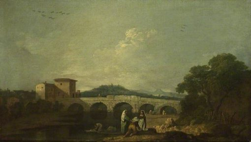 Bridge of Augustus at Rimini   Richard Wilson