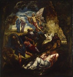 The Resurrection of Christ | Tintoretto | Oil Painting