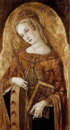 Saint Catherine of Alexandria | Vittore Crivelli | Oil Painting