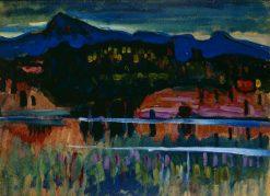 Murnau-Staffelsee I | Wassily Kandinsky | Oil Painting