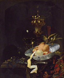Still Life with an Oriental Rug | Willem Kalf | Oil Painting