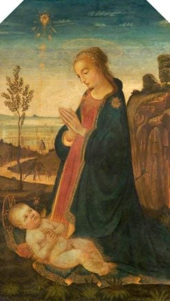 Virgin and Child in a Landscape | Jacopo del Sellaio | Oil Painting