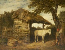 Rustic Shed | William Collins | Oil Painting